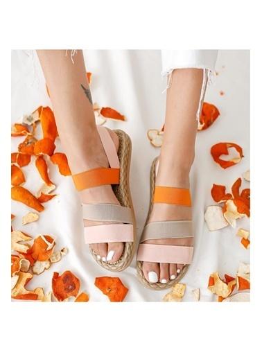 Muggo Sandalet Pudra